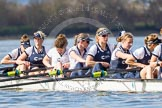 The Boat Race season 2016 -  The Cancer Research Women's Boat Race. River Thames between Putney Bridge and Mortlake, London SW15,  United Kingdom, on 27 March 2016 at 14:04, image #143