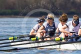 The Boat Race season 2016 -  The Cancer Research Women's Boat Race. River Thames between Putney Bridge and Mortlake, London SW15,  United Kingdom, on 27 March 2016 at 14:04, image #145