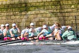 The Boat Race season 2016 -  The Cancer Research Women's Boat Race. River Thames between Putney Bridge and Mortlake, London SW15,  United Kingdom, on 27 March 2016 at 14:04, image #146
