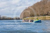 The Boat Race season 2016 -  The Cancer Research Women's Boat Race. River Thames between Putney Bridge and Mortlake, London SW15,  United Kingdom, on 27 March 2016 at 14:05, image #147