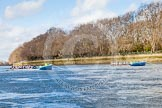 The Boat Race season 2016 -  The Cancer Research Women's Boat Race. River Thames between Putney Bridge and Mortlake, London SW15,  United Kingdom, on 27 March 2016 at 14:05, image #150