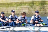 The Boat Race season 2016 -  The Cancer Research Women's Boat Race. River Thames between Putney Bridge and Mortlake, London SW15,  United Kingdom, on 27 March 2016 at 14:05, image #152