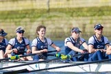 The Boat Race season 2016 -  The Cancer Research Women's Boat Race. River Thames between Putney Bridge and Mortlake, London SW15,  United Kingdom, on 27 March 2016 at 14:05, image #153