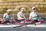 The Boat Race season 2016 -  The Cancer Research Women's Boat Race. River Thames between Putney Bridge and Mortlake, London SW15,  United Kingdom, on 27 March 2016 at 14:06, image #154