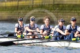 The Boat Race season 2016 -  The Cancer Research Women's Boat Race. River Thames between Putney Bridge and Mortlake, London SW15,  United Kingdom, on 27 March 2016 at 14:07, image #158
