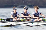The Boat Race season 2016 -  The Cancer Research Women's Boat Race. River Thames between Putney Bridge and Mortlake, London SW15,  United Kingdom, on 27 March 2016 at 14:08, image #163