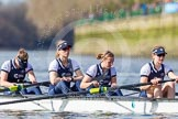 The Boat Race season 2016 -  The Cancer Research Women's Boat Race. River Thames between Putney Bridge and Mortlake, London SW15,  United Kingdom, on 27 March 2016 at 14:08, image #165