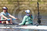 The Boat Race season 2016 -  The Cancer Research Women's Boat Race. River Thames between Putney Bridge and Mortlake, London SW15,  United Kingdom, on 27 March 2016 at 14:10, image #168