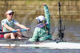 The Boat Race season 2016 -  The Cancer Research Women's Boat Race. River Thames between Putney Bridge and Mortlake, London SW15,  United Kingdom, on 27 March 2016 at 14:10, image #169