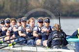 The Boat Race season 2016 -  The Cancer Research Women's Boat Race. River Thames between Putney Bridge and Mortlake, London SW15,  United Kingdom, on 27 March 2016 at 14:10, image #172