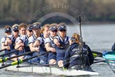 The Boat Race season 2016 -  The Cancer Research Women's Boat Race. River Thames between Putney Bridge and Mortlake, London SW15,  United Kingdom, on 27 March 2016 at 14:10, image #173