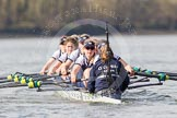 The Boat Race season 2016 -  The Cancer Research Women's Boat Race. River Thames between Putney Bridge and Mortlake, London SW15,  United Kingdom, on 27 March 2016 at 14:10, image #174