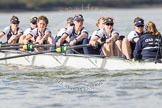 The Boat Race season 2016 -  The Cancer Research Women's Boat Race. River Thames between Putney Bridge and Mortlake, London SW15,  United Kingdom, on 27 March 2016 at 14:11, image #178