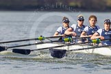 The Boat Race season 2016 -  The Cancer Research Women's Boat Race. River Thames between Putney Bridge and Mortlake, London SW15,  United Kingdom, on 27 March 2016 at 14:11, image #179