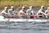 The Boat Race season 2016 -  The Cancer Research Women's Boat Race. River Thames between Putney Bridge and Mortlake, London SW15,  United Kingdom, on 27 March 2016 at 14:11, image #183