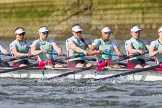 The Boat Race season 2016 -  The Cancer Research Women's Boat Race. River Thames between Putney Bridge and Mortlake, London SW15,  United Kingdom, on 27 March 2016 at 14:11, image #184