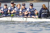 The Boat Race season 2016 -  The Cancer Research Women's Boat Race. River Thames between Putney Bridge and Mortlake, London SW15,  United Kingdom, on 27 March 2016 at 14:11, image #185