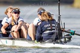 The Boat Race season 2016 -  The Cancer Research Women's Boat Race. River Thames between Putney Bridge and Mortlake, London SW15,  United Kingdom, on 27 March 2016 at 14:11, image #189