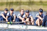 The Boat Race season 2016 -  The Cancer Research Women's Boat Race. River Thames between Putney Bridge and Mortlake, London SW15,  United Kingdom, on 27 March 2016 at 14:11, image #190