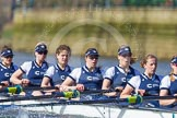 The Boat Race season 2016 -  The Cancer Research Women's Boat Race. River Thames between Putney Bridge and Mortlake, London SW15,  United Kingdom, on 27 March 2016 at 14:11, image #191
