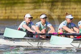 The Boat Race season 2016 -  The Cancer Research Women's Boat Race. River Thames between Putney Bridge and Mortlake, London SW15,  United Kingdom, on 27 March 2016 at 14:12, image #197