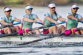 The Boat Race season 2016 -  The Cancer Research Women's Boat Race. River Thames between Putney Bridge and Mortlake, London SW15,  United Kingdom, on 27 March 2016 at 14:12, image #200