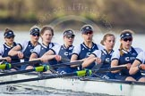 The Boat Race season 2016 -  The Cancer Research Women's Boat Race. River Thames between Putney Bridge and Mortlake, London SW15,  United Kingdom, on 27 March 2016 at 14:12, image #201