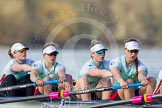 The Boat Race season 2016 -  The Cancer Research Women's Boat Race. River Thames between Putney Bridge and Mortlake, London SW15,  United Kingdom, on 27 March 2016 at 14:13, image #203