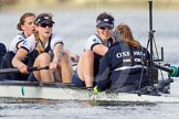 The Boat Race season 2016 -  The Cancer Research Women's Boat Race. River Thames between Putney Bridge and Mortlake, London SW15,  United Kingdom, on 27 March 2016 at 14:13, image #205