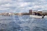 The Boat Race season 2016 -  The Cancer Research Women's Boat Race. River Thames between Putney Bridge and Mortlake, London SW15,  United Kingdom, on 27 March 2016 at 14:13, image #207