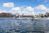 The Boat Race season 2016 -  The Cancer Research Women's Boat Race. River Thames between Putney Bridge and Mortlake, London SW15,  United Kingdom, on 27 March 2016 at 14:14, image #208