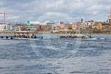 The Boat Race season 2016 -  The Cancer Research Women's Boat Race. River Thames between Putney Bridge and Mortlake, London SW15,  United Kingdom, on 27 March 2016 at 14:14, image #209