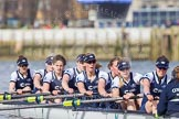 The Boat Race season 2016 -  The Cancer Research Women's Boat Race. River Thames between Putney Bridge and Mortlake, London SW15,  United Kingdom, on 27 March 2016 at 14:14, image #210