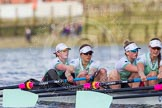 The Boat Race season 2016 -  The Cancer Research Women's Boat Race. River Thames between Putney Bridge and Mortlake, London SW15,  United Kingdom, on 27 March 2016 at 14:14, image #212