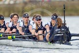 The Boat Race season 2016 -  The Cancer Research Women's Boat Race. River Thames between Putney Bridge and Mortlake, London SW15,  United Kingdom, on 27 March 2016 at 14:15, image #216