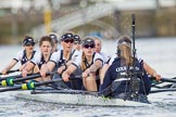 The Boat Race season 2016 -  The Cancer Research Women's Boat Race. River Thames between Putney Bridge and Mortlake, London SW15,  United Kingdom, on 27 March 2016 at 14:15, image #217