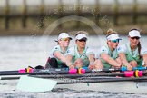 The Boat Race season 2016 -  The Cancer Research Women's Boat Race. River Thames between Putney Bridge and Mortlake, London SW15,  United Kingdom, on 27 March 2016 at 14:15, image #218