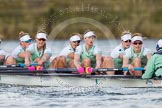 The Boat Race season 2016 -  The Cancer Research Women's Boat Race. River Thames between Putney Bridge and Mortlake, London SW15,  United Kingdom, on 27 March 2016 at 14:16, image #220