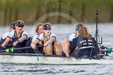 The Boat Race season 2016 -  The Cancer Research Women's Boat Race. River Thames between Putney Bridge and Mortlake, London SW15,  United Kingdom, on 27 March 2016 at 14:16, image #221