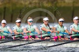 The Boat Race season 2016 -  The Cancer Research Women's Boat Race. River Thames between Putney Bridge and Mortlake, London SW15,  United Kingdom, on 27 March 2016 at 14:16, image #222