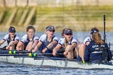The Boat Race season 2016 -  The Cancer Research Women's Boat Race. River Thames between Putney Bridge and Mortlake, London SW15,  United Kingdom, on 27 March 2016 at 14:17, image #224