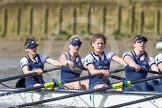 The Boat Race season 2016 -  The Cancer Research Women's Boat Race. River Thames between Putney Bridge and Mortlake, London SW15,  United Kingdom, on 27 March 2016 at 14:18, image #227