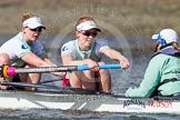 The Boat Race season 2016 -  The Cancer Research Women's Boat Race. River Thames between Putney Bridge and Mortlake, London SW15,  United Kingdom, on 27 March 2016 at 14:18, image #228