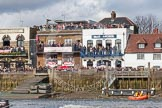 The Boat Race season 2016 -  The Cancer Research Women's Boat Race. River Thames between Putney Bridge and Mortlake, London SW15,  United Kingdom, on 27 March 2016 at 14:18, image #230