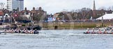 The Boat Race season 2016 -  The Cancer Research Women's Boat Race. River Thames between Putney Bridge and Mortlake, London SW15,  United Kingdom, on 27 March 2016 at 14:18, image #231