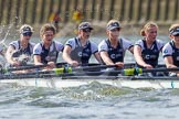 The Boat Race season 2016 -  The Cancer Research Women's Boat Race. River Thames between Putney Bridge and Mortlake, London SW15,  United Kingdom, on 27 March 2016 at 14:20, image #234