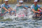 The Boat Race season 2016 -  The Cancer Research Women's Boat Race. River Thames between Putney Bridge and Mortlake, London SW15,  United Kingdom, on 27 March 2016 at 14:20, image #236