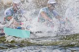 The Boat Race season 2016 -  The Cancer Research Women's Boat Race. River Thames between Putney Bridge and Mortlake, London SW15,  United Kingdom, on 27 March 2016 at 14:20, image #238