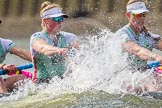 The Boat Race season 2016 -  The Cancer Research Women's Boat Race. River Thames between Putney Bridge and Mortlake, London SW15,  United Kingdom, on 27 March 2016 at 14:20, image #239
