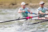 The Boat Race season 2016 -  The Cancer Research Women's Boat Race. River Thames between Putney Bridge and Mortlake, London SW15,  United Kingdom, on 27 March 2016 at 14:20, image #240